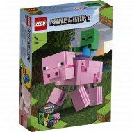 Конструктор «LEGO» Minecraft, Свинья и Зомби-ребёнок