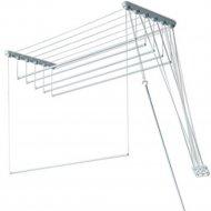 Сушилка для белья «Comfort Alumin» алюминиевая, 5 прутьев, 2.4 м