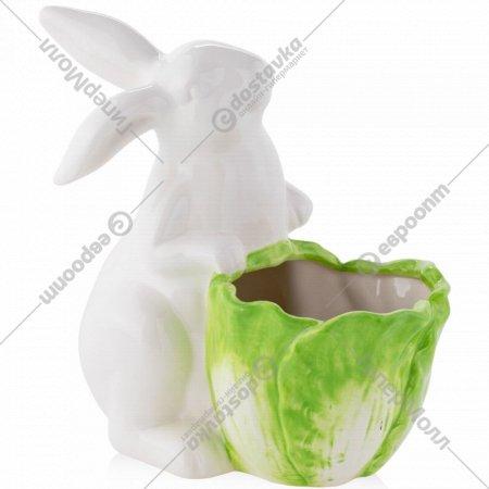Цветочный горшок «Home&You» Cabbage Leaf New, 55416-ZIE-OSLO-WN