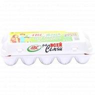 Яйца куриные «ABC» С-1, 10 шт.