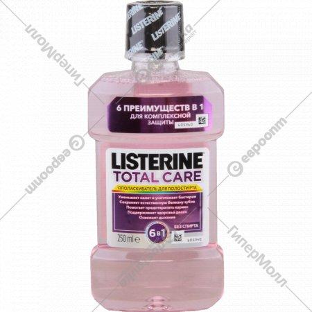 Ополаскиватель для рта «Listerine», total care, 250 мл.