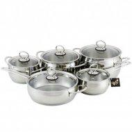 Набор кухонной посуды «Кухар» Магнолия Классика, КМ1-035С
