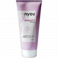 Гель для тела «Nyou» Savory, с экстрактом имбиря, 200 мл
