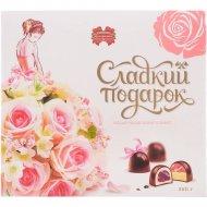Набор конфет подарочный «Коммунарка» Сладкий подарок. Розовый, 260 г