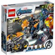 Конструктор «LEGO» Super Heroes Avergers, Нападение на грузовик