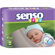 Подгузники «Senso» размер 2, 3-6 кг, 26 шт.