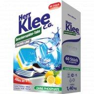 Таблетки для посудомоечных машин «Herr Klee» C.G.Silver Line, 70 шт.