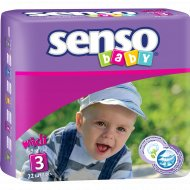 Подгузники для детей «Senso baby» midi, 22 шт.