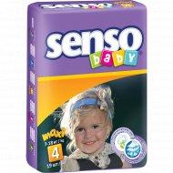 Подгузники для детей «Senso Baby» maxi, 7-18 кг, 19 шт.