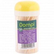 Зубочистки «Dompi» 100 шт