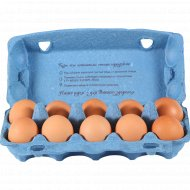 Яйца куриные «Солигорская птицефабрика» Чистые, С1, 10 шт