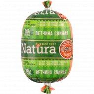 Ветчина «Natura Свиная» высший сорт, 240 г.