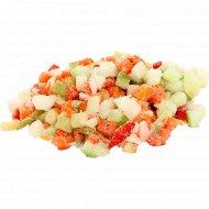 Овощная смесь быстрозамороженная с кабачками 1 кг., фасовка 0.9-1.1 кг