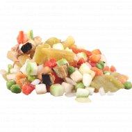 Смесь овощная «Гарнир с баклажанами» замороженная, 1 кг., фасовка 0.8-1 кг