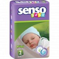 Подгузники для детей «Senso baby» mini, 3-6 кг, 52 шт.