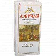 Чай черный «Азерчай» букет, 25 пакетиков.