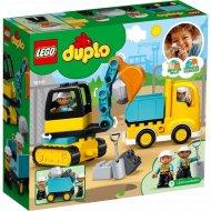 Конструктор «LEGO» Duplo Town, Грузовик и гусеничный экскаватор