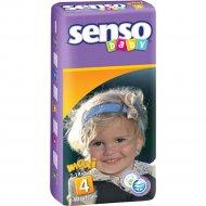 Подгузники для детей «Senso baby» maxi, 7-18 кг, 40 шт.