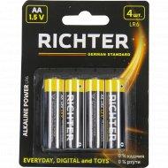 Батарейки «Richter» LR6, 4 шт.