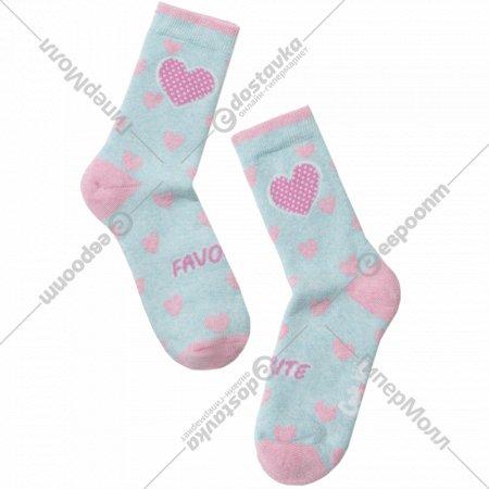 Носки детские «Ck Sof-Tiki» бледно-бирюзовые, размер 18.