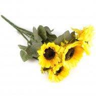 Цветок искусственный «Подсолнух» 50 см.