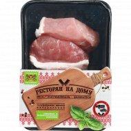 Полуфабрикат мясной из свинины «Эскалоп» охлажденный, 700 г.