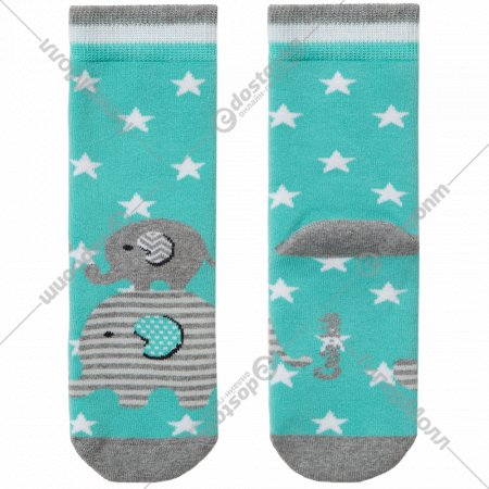 Носки детские «Ck Sof-Tiki» бирюзовые, размер 12.