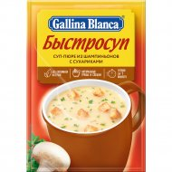 Быстросуп «Gallina Blanca» из шампиньонов с сухариками 17 г.