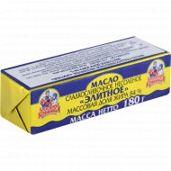 Масло сладкосливочное «Бабушкина крынка» несоленое, 84%, 180 г.