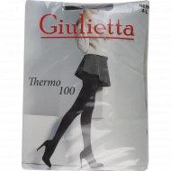 Колготки женские «Giulietta» Thermo 100 den, nero., фасовка 42 кг