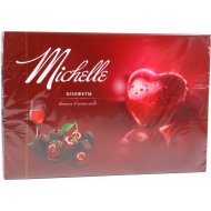 Конфеты «Michelle» вишня в шоколаде, 200 г.