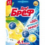 Туалетный блок «Bref» лимонная свежесть, 50 г