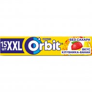 Жевательная резинка «Оrbit» XXL клубника-банан, 20.4 г.
