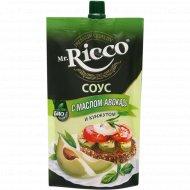 Соус «Mr. Ricco» с маслом авокадо и кунжутом, 210 г.