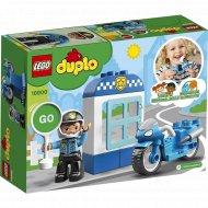 Конструктор «LEGO» Duplo Town, Полицейский мотоцикл