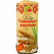 Хлебцы «Минские» цельнозерновые пшенично-рисовые, 100 г.