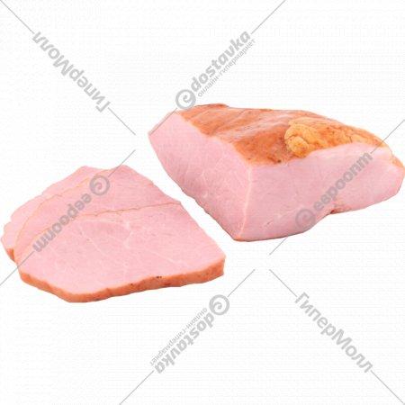 Окорочок свиной «Домашний люкс» копчено-вареный, 1 кг., фасовка 0.4-0.5 кг