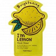 Маска для лица «TonyMoly» с лимоном, 21 мл.