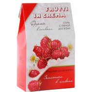 Соль с пеной «Frutti in Crema» для ванн, земляника в сливках, 500 г.