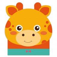 Блокнот «Жираф» 48335, А6, 30 листов.