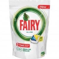 Капсулы для посудомоечных машин «Fairy» Original All in One, 48 шт