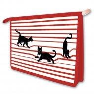 Папка для тетрадей «Черные кот».