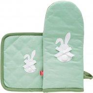 Рукавица и прихватка «Home&You» Green Bunny, 54211-ZIE-REKL-WN