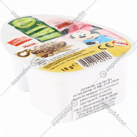 Паста из фундука и какао «Disney» с хрустящей пшеницей, 18 г.