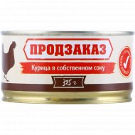 Консервы мясные «Курица в собственному соку» 325 г.