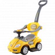 Автомобиль-каталка «Deluxe Mega car» желтый, 382