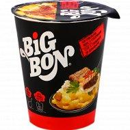 Картофельное пюре «Big Bon» с сухариками и соус говядина по-домашнему 60 г.