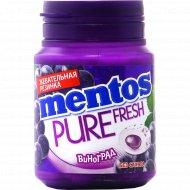 Жевательная резинка «Mentos» со вкусом винограда, 54 г.