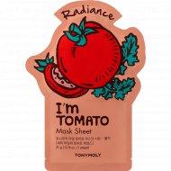 Маска для лица «TonyMoly» с экстрактом томата, 21 мл.