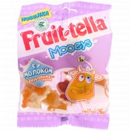 Жевательный мармелад «Fruit-tella» с молоком и фруктоым соком, 65 г.